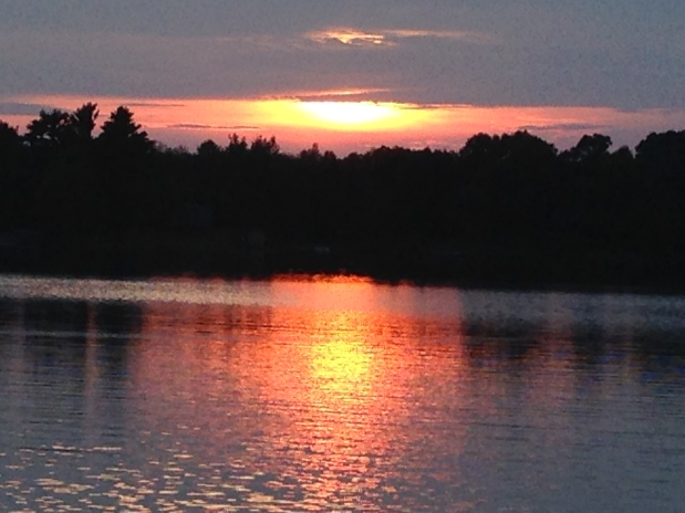 Some time off....Spencer Lake Sunsets are amazing.  Waupaca,Wisconsin