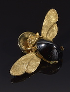 Vintage Bee Tack style pin